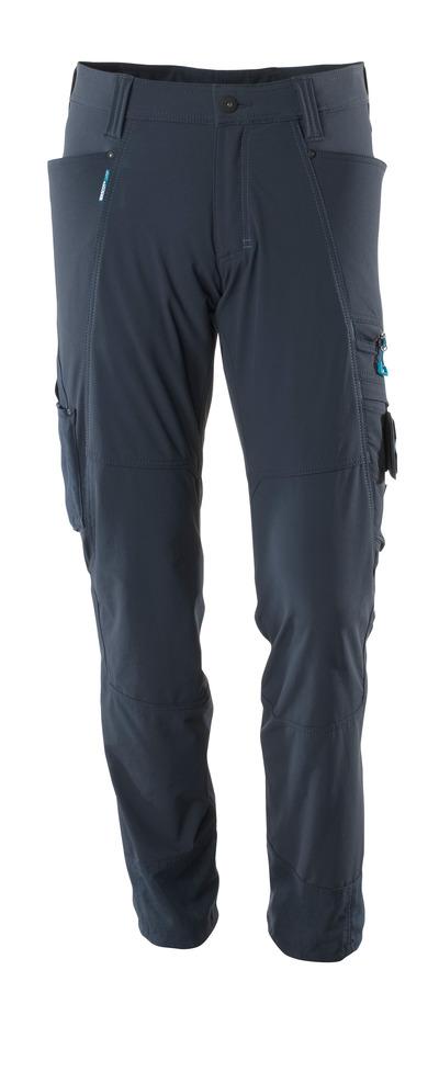 MASCOT® ADVANCED - mørk marine - Bukser, firevejs-stretch, lav vægt