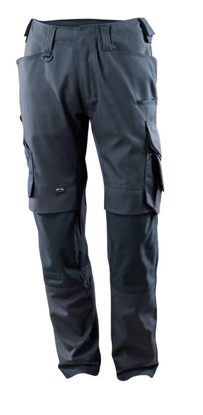 MASCOT® Adra - mørk marine - Bukser med CORDURA®-knælommer, stretch-paneler, høj slidstyrke