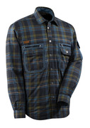 Thermal Shirt quilted plaid flannel-01085