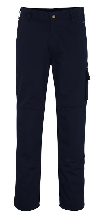 MASCOT® Albany - marine* - Bukser med knælommer, høj slidstyrke