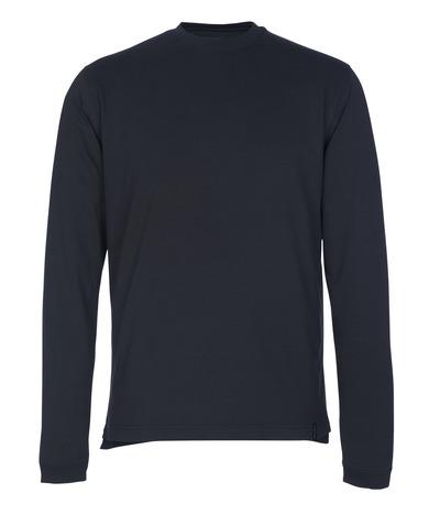 MASCOT® Albi - mørk marine - T-shirt, langærmet, moderne pasform