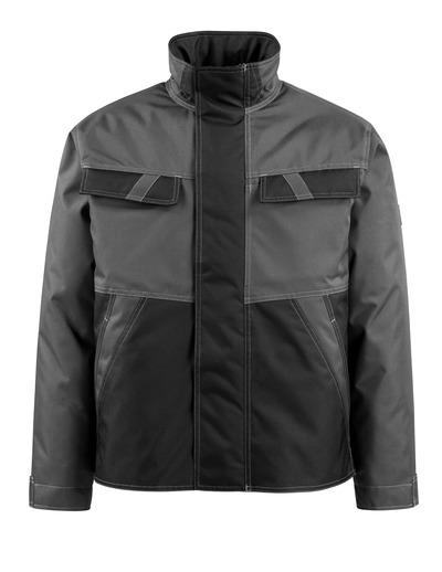 MASCOT® Albury - mørk antracit/sort - Vinterjakke med quiltfór, vandafvisende