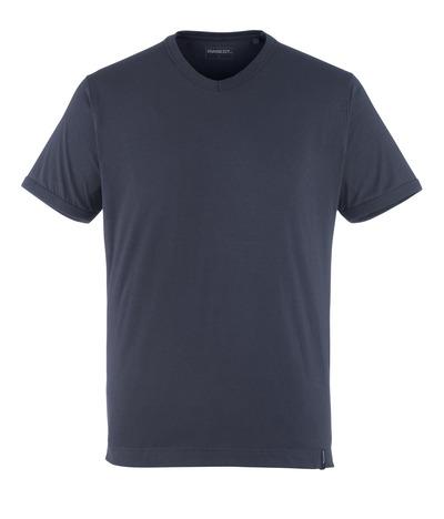 MASCOT® Algoso - mørk marine - T-shirt, lille V-hals, moderne pasform