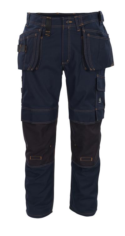 MASCOT® Almada - mørk marine - Bukser med CORDURA®-knælommer og hængelommer, høj slidstyrke
