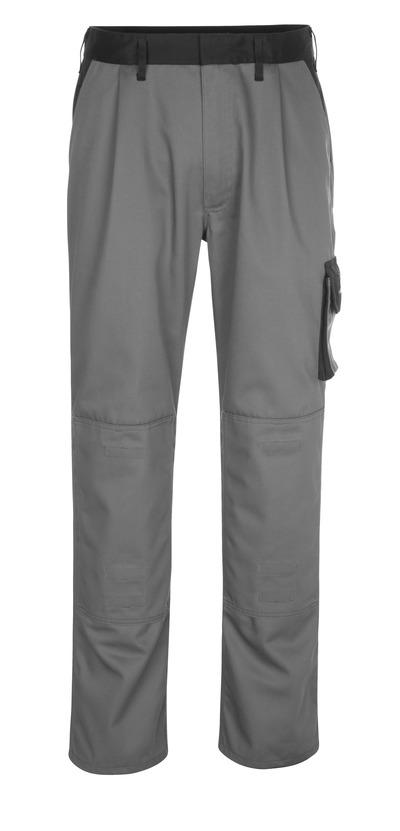 MASCOT® Ancona - antracit/sort - Bukser med knælommer, lav vægt