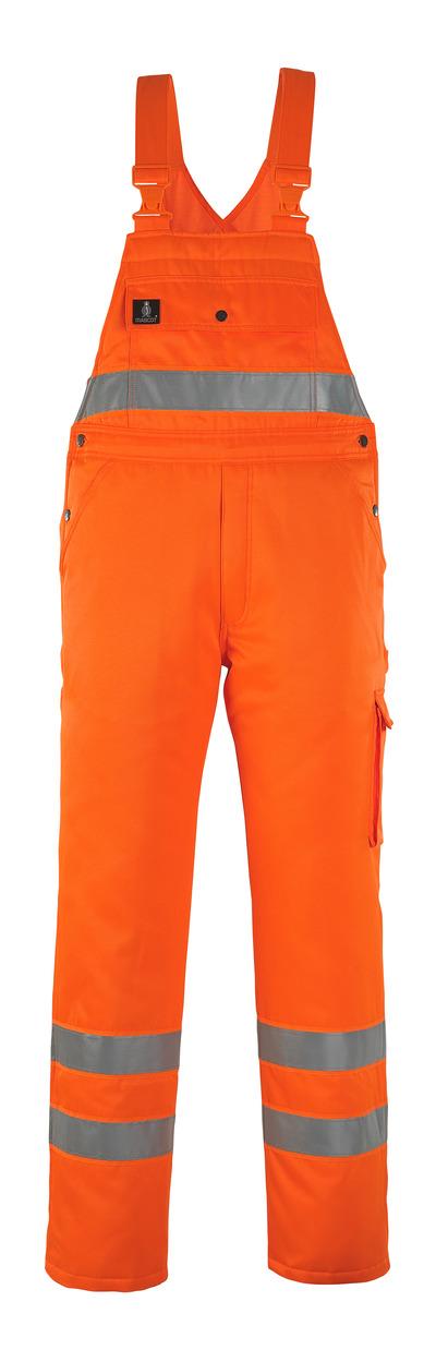 MASCOT® Antarktis - hi-vis orange - Vinteroverall med quiltfór, vandafvisende, kl. 2/2