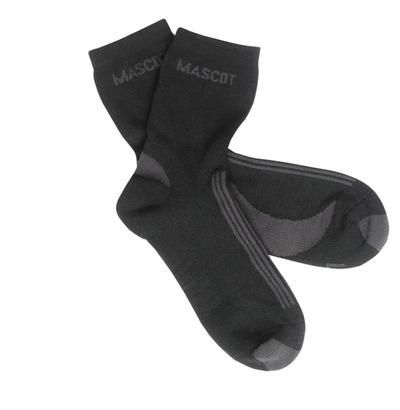 MASCOT® Asmara - sort/mørk antracit - Sokker, svedtransporterende