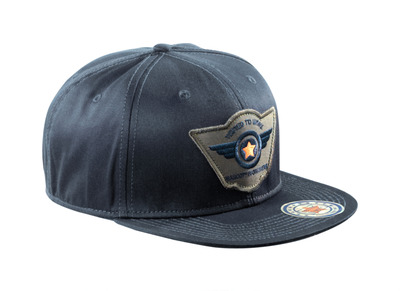 MASCOT® Bayville - mørk marine - Cap med ventilationshuller, regulerbar, med broderi