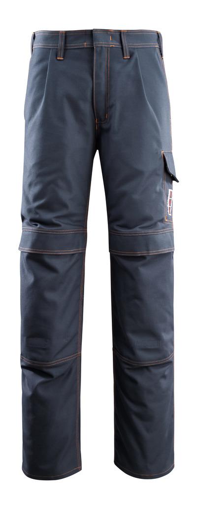 MASCOT® Bex - mørk marine - Bukser med knælommer, multibeskyttelse