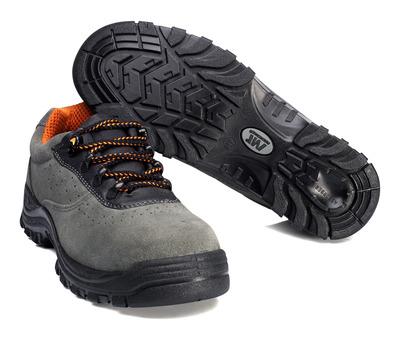 MACMICHAEL® Bishorn - antracit/sort - Sikkerhedssko S1P med snørebånd