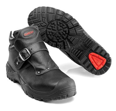 MASCOT® Boron - sort - Sikkerhedsstøvle S3 med spændelukning