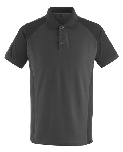 MASCOT® Bottrop - mørk antracit/sort* - Poloshirt