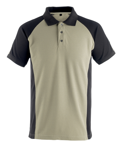 MASCOT® Bottrop - lys kaki/sort* - Poloshirt, moderne pasform