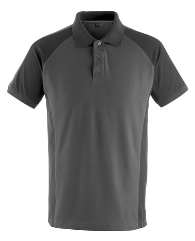 MASCOT® Bottrop - mørk antracit/sort - Poloshirt