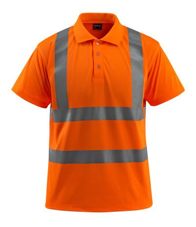 MASCOT® Bowen - hi-vis orange - Poloshirt, klassisk pasform, kl. 2