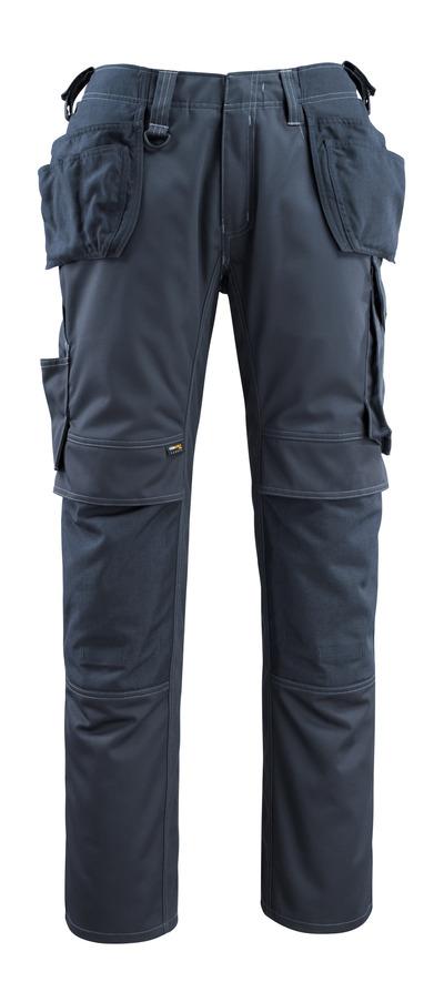 MASCOT® Bremen - mørk marine - Bukser med CORDURA®-knæ- og hængelommer, høj slidstyrke