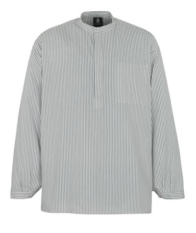 MASCOT® Buffalo - hvid/marine - Murerskjorte