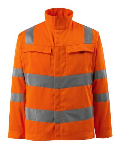 MASCOT® Bunbury - hi-vis orange - Jakke, høj slidstyrke, ensfarvet, kl. 3