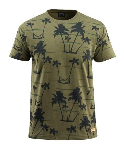 MASCOT® Bushwick - mosgrøn* - T-shirt