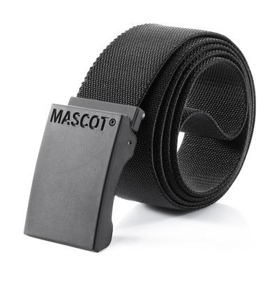 MASCOT® COMPLETE - sort - Bælte med regulerbart spænde, elastisk