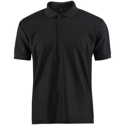 MASCOT® CROSSOVER - sort - Poloshirt, svedtransporterende CoolDry, moderne pasform