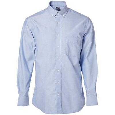 MASCOT® CROSSOVER - lys blå - Skjorte, oxford, klassisk pasform