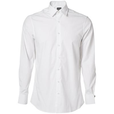 MASCOT® CROSSOVER - hvid - Skjorte, poplin, moderne pasform