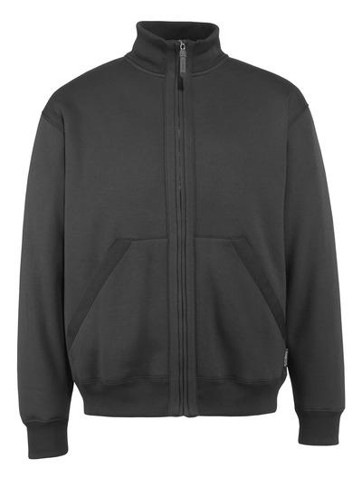 MASCOT® Cannes - sort* - Sweatshirt med lynlås