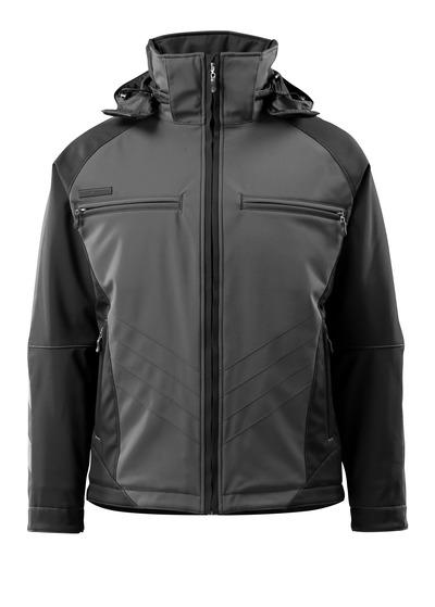 MASCOT® Darmstadt - mørk antracit/sort - Vinterjakke, vandafvisende, høj isoleringsevne