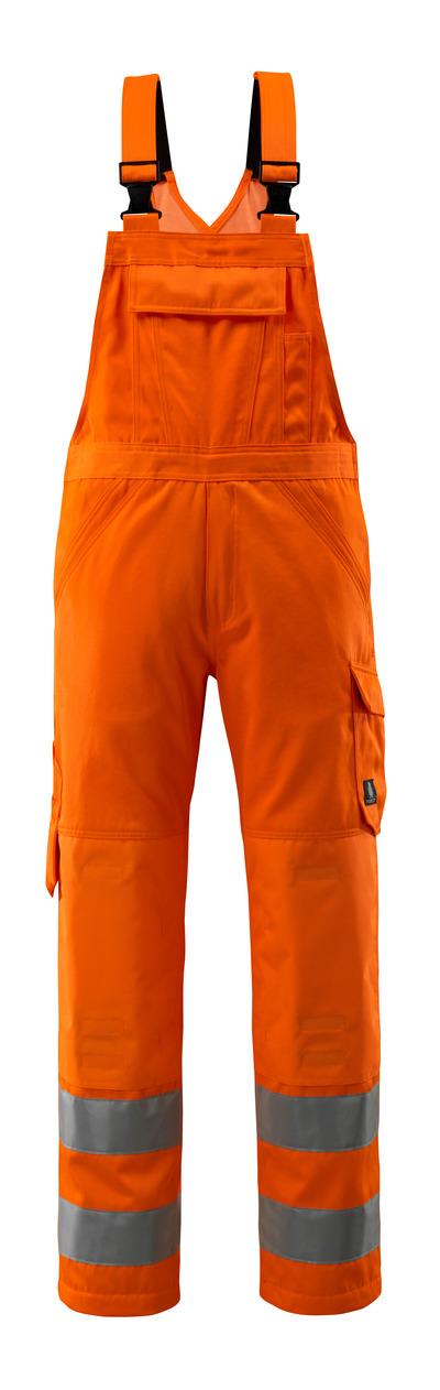 MASCOT® Devonport - hi-vis orange - Overall med knælommer, ensfarvet, kl. 2