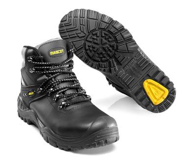 MASCOT® Elbrus - sort/gul - Sikkerhedsstøvle S3 med snørebånd