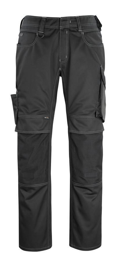 MASCOT® Erlangen - sort/mørk antracit - Bukser med CORDURA®-knælommer, høj slidstyrke