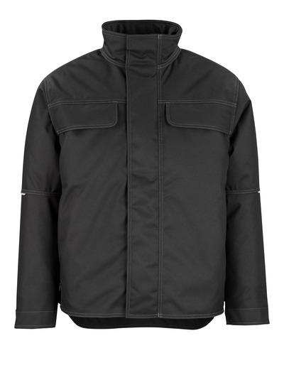 MASCOT® Flint - sort - Vinterjakke med quiltet fleecefór