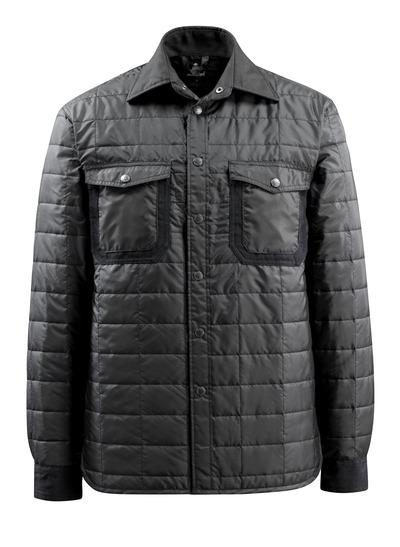 MASCOT® Fraga - sort - Skjorte med fór med trykknapper