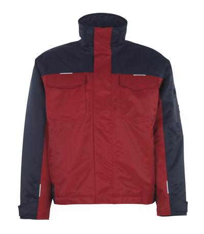 MASCOT® Genova - rød/marine* - Vinterjakke med quiltfór, vandtæt MASCOTEX®