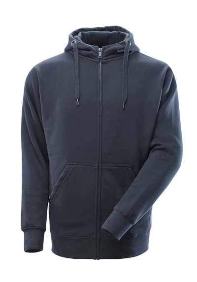MASCOT® Gimont - mørk marine - Hættetrøje med lynlås, moderne pasform