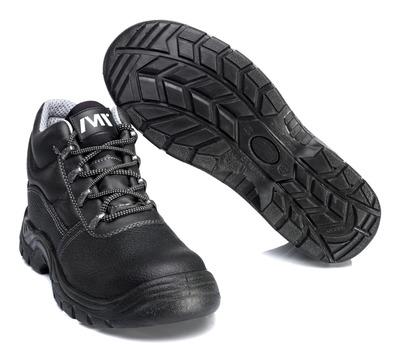 MACMICHAEL® Greenhorn - sort - Sikkerhedsstøvle S3 med snørebånd