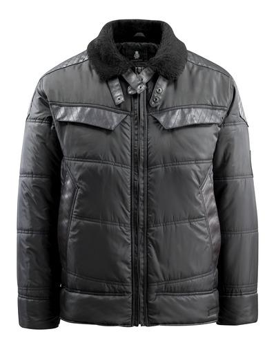 MASCOT® Haro - sort - Vinterjakke, vatteret