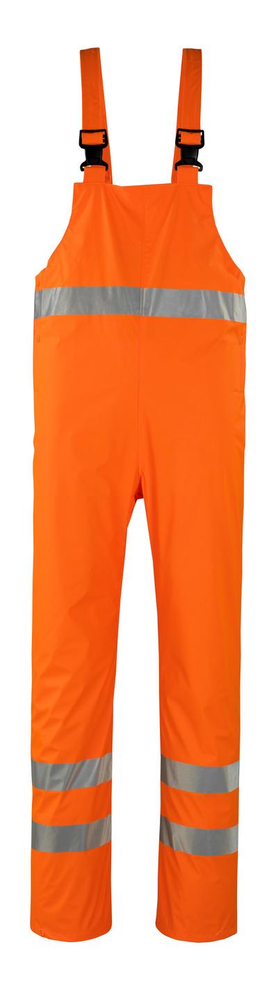 MASCOT® Hartberg - hi-vis orange* - Regnoverall, vind- og vandtæt, kl. 2