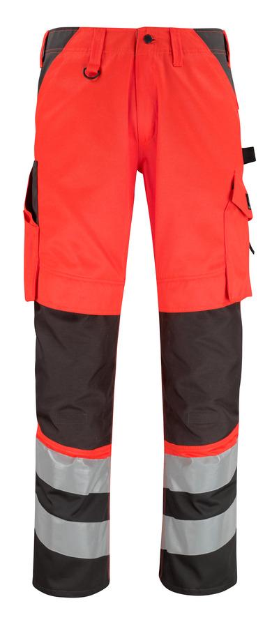MASCOT® Horta - hi-vis rød/mørk antracit* - Bukser med knælommer