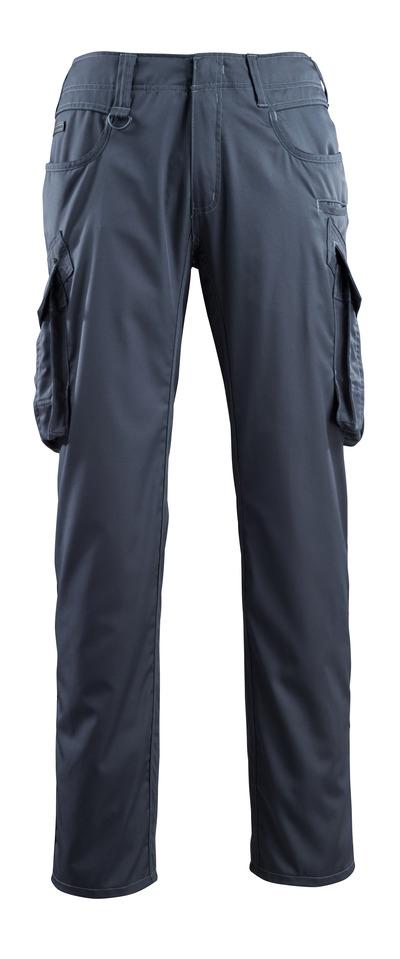 MASCOT® Ingolstadt - mørk marine - Bukser med lårlommer, ekstra lav vægt