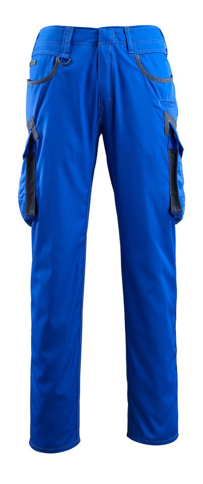 MASCOT® Ingolstadt - kobolt/mørk marine - Bukser med lårlommer, ekstra lav vægt
