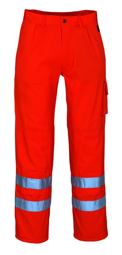 MASCOT® Iowa - hi-vis orange* - Bukser med knælommer