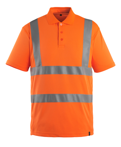 MASCOT® Itabuna - hi-vis orange - Poloshirt, moderne pasform, kl. 2