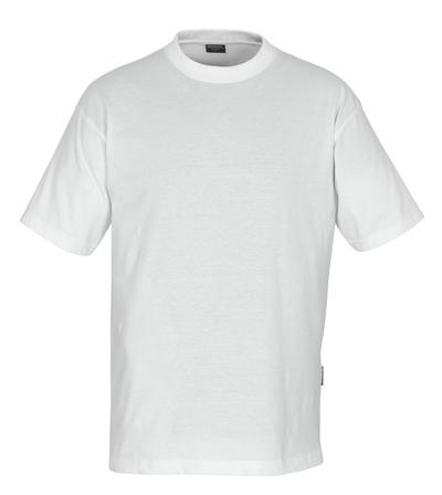 MASCOT® Jamaica - hvid - T-shirt, lav vægt, klassisk pasform