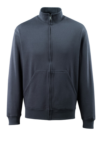 MASCOT® Lavit - mørk marine - Sweatshirt med lynlås, moderne pasform