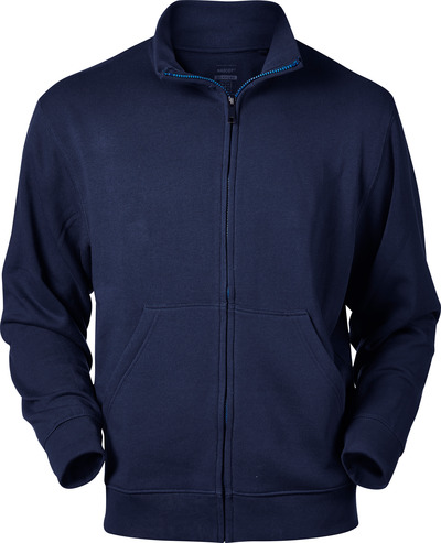 MASCOT® Lavit - mørk marine - Sweatshirt med lynlås