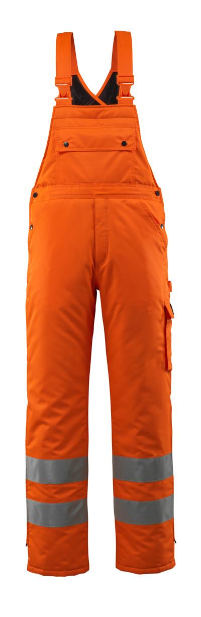 MASCOT® Lech - hi-vis orange - Vinteroverall med quiltfór, vandtæt MASCOTEX®, kl. 2