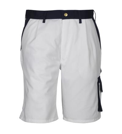 MASCOT® Lido - hvid/marine*/¹) - Shorts, høj slidstyrke