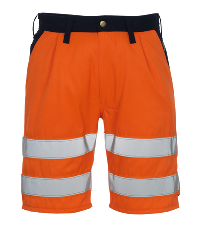 MASCOT® Lido - hi-vis orange/marine* - Shorts, kl. 1/2